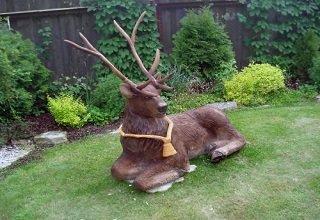 Скульптуры животных оживят ваш сад