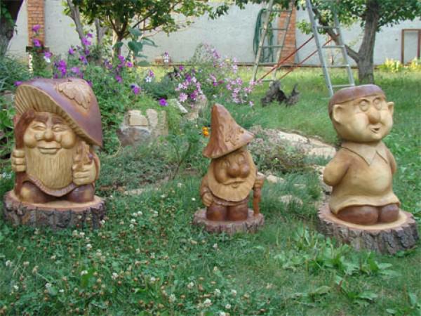 Фигуры из дерева фото своими руками