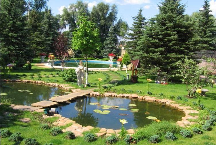 Дизайн садовых участков