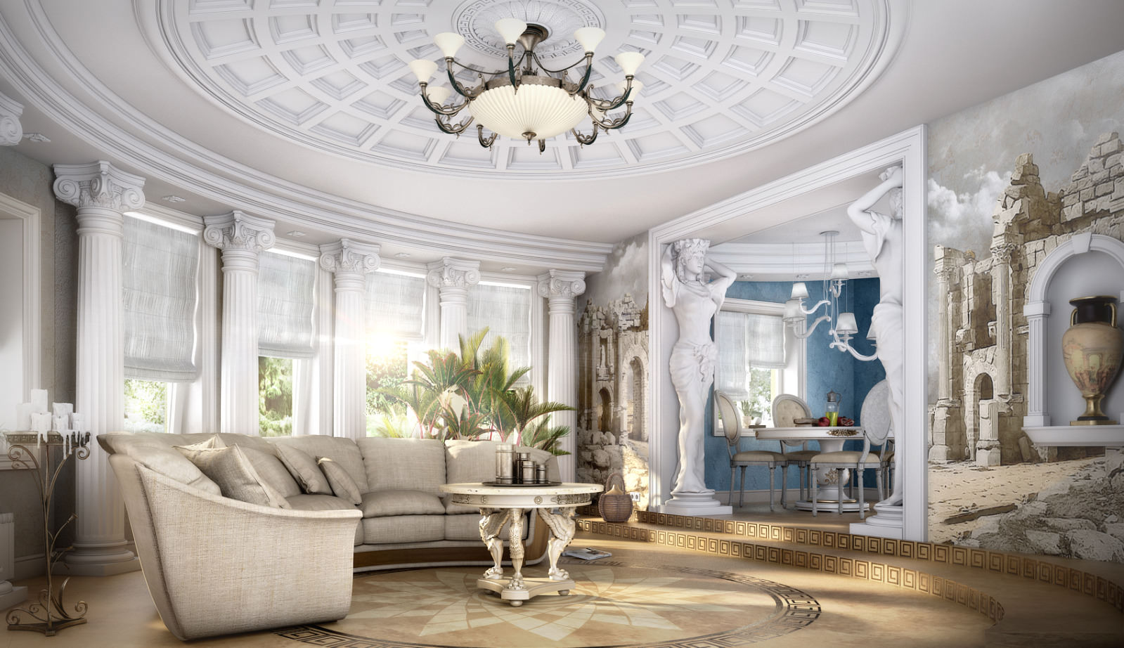 Средиземноморский стиль в архитектуре