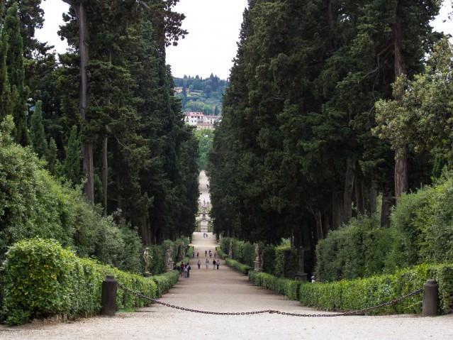 Сады боболи во Флоренции фото