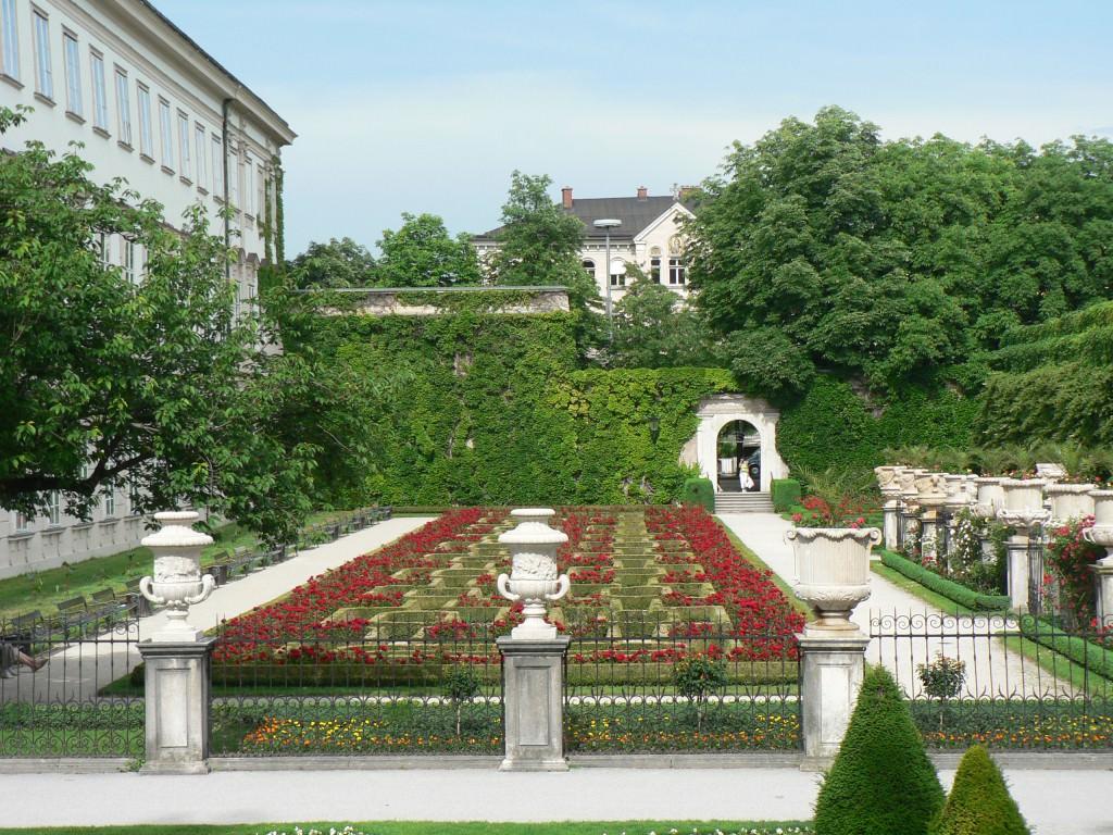 Растения сада мирабель Зальцбург