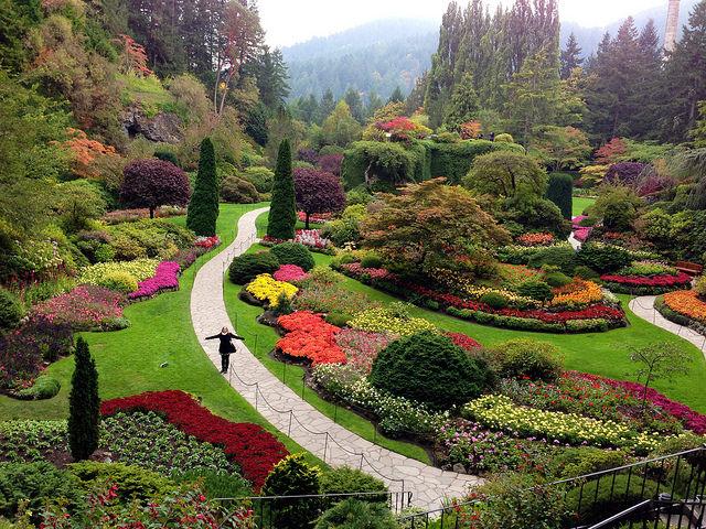 Сады бутчартов Канада фото высокое разрешение