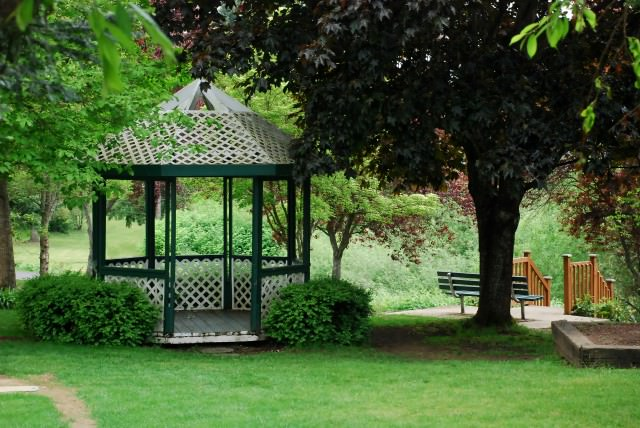 Популярные беседки на садовом участке