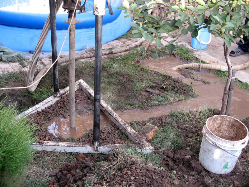 Оборудование скважины под воду своими руками 6