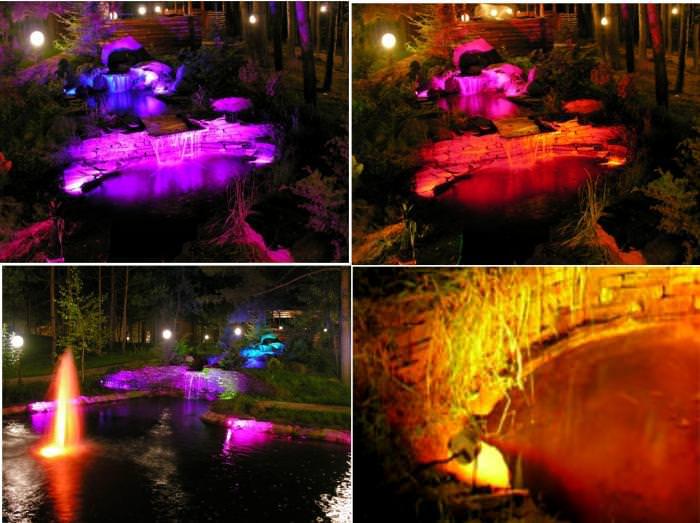 Виды светового водоема