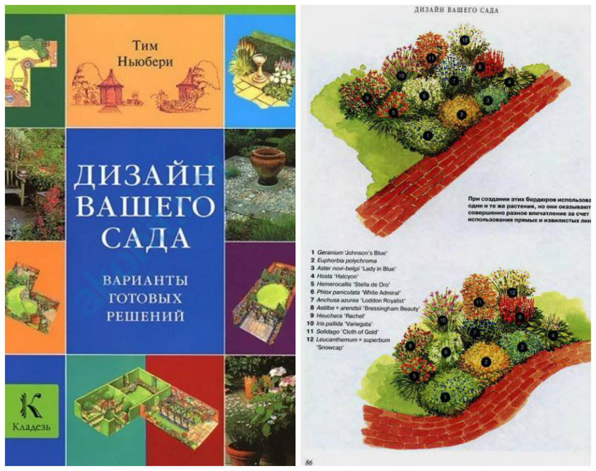 Лучшие книги для ландшафтного дизайна