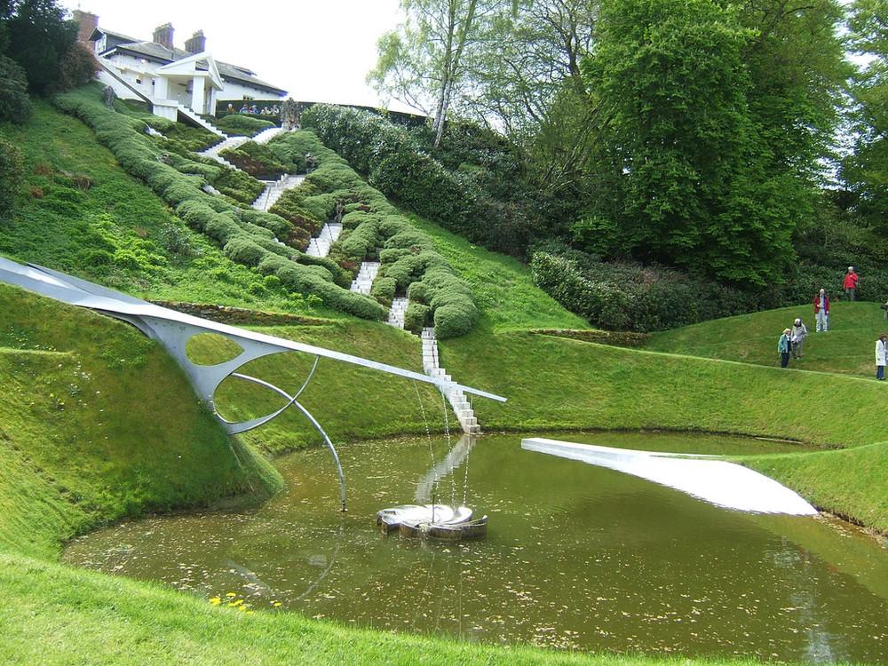 Космический сад южная Шотландия