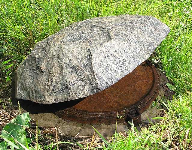 Декоративные люки под камень
