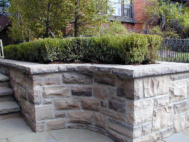 Подпорные стенки из бетона