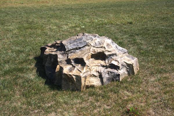 Камни валуны из стеклопластика технология