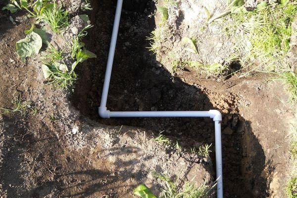 Водопровод из водоема