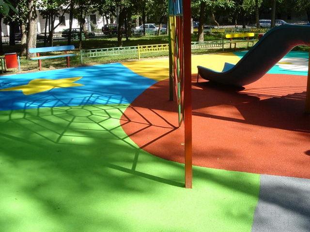 Покрытие для спортивной площадки на улице