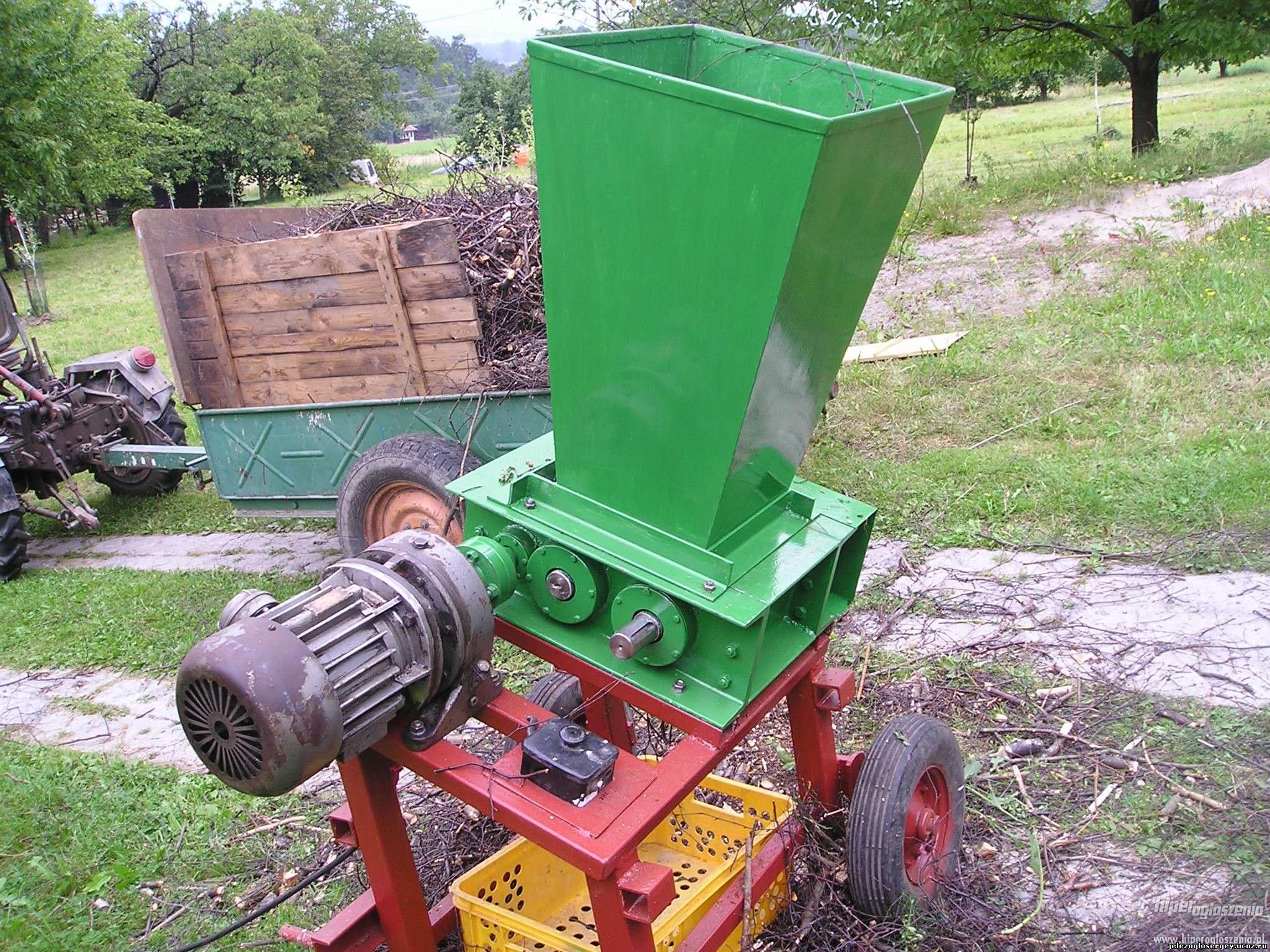 Измельчение древесины своими руками фото 543