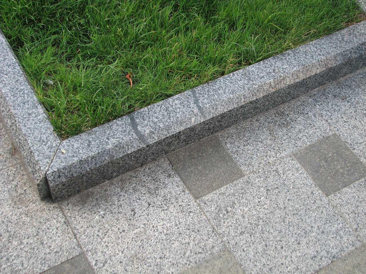 Правильность укладки бордюрного камня
