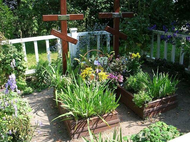 Облагораживание мест захоронения