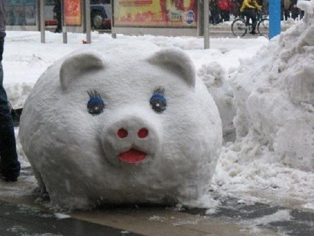 Какие фигуры из снега можно сделать фото фото 652