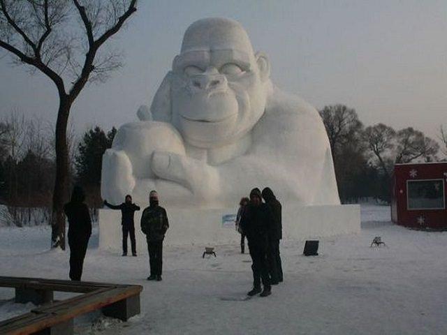Фото как сделать снежный шар своими руками