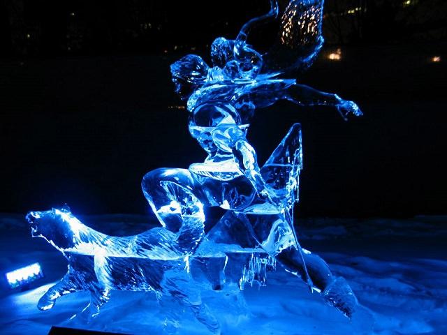 Фигуры из льда своими руками 71