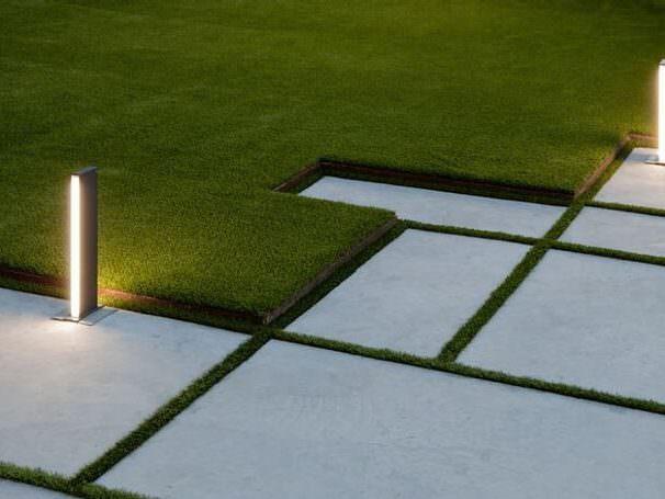 Как оформить края газона?
