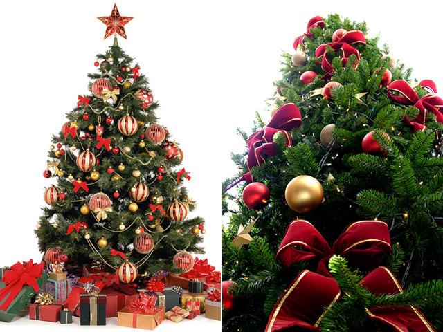 Как раньше украшали елку?