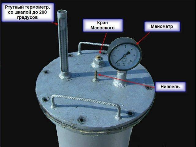 Как сделать автоклав из газового баллона?