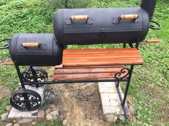 Печка мангал