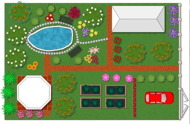 Садовые дорожки плитняка
