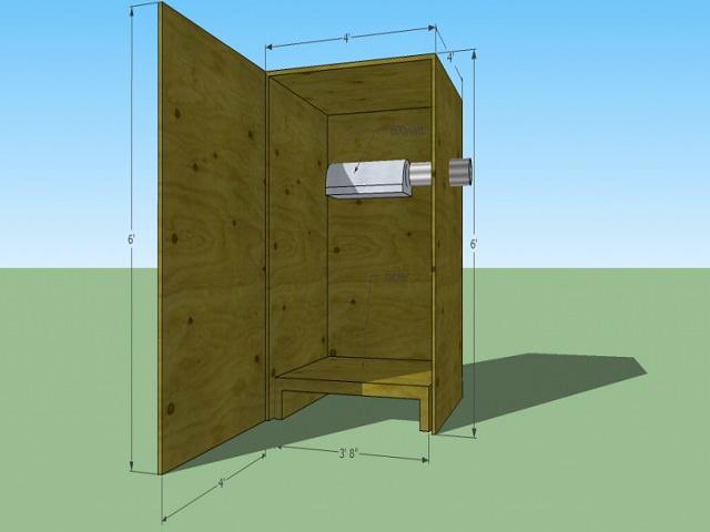 Схематичное изображение корпуса для гроубокса