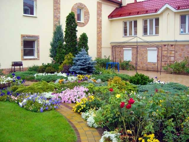 Дизайн сада огорода своими руками видео