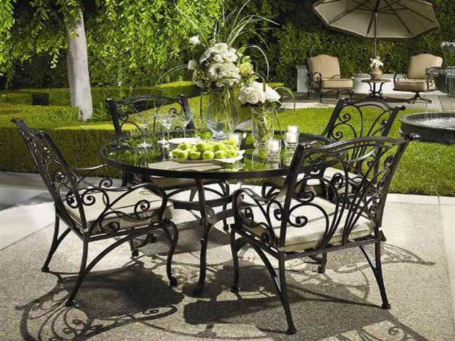 Самодельная мебель для сада