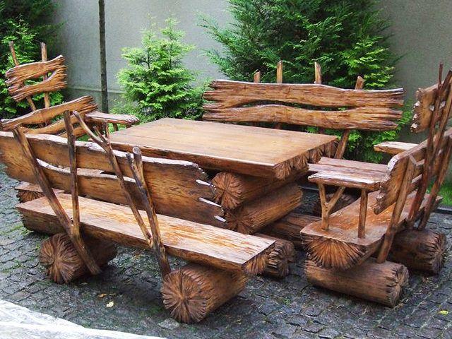 Кованая садовая мебель своими руками