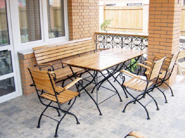 Мебель из Поддонов садовая