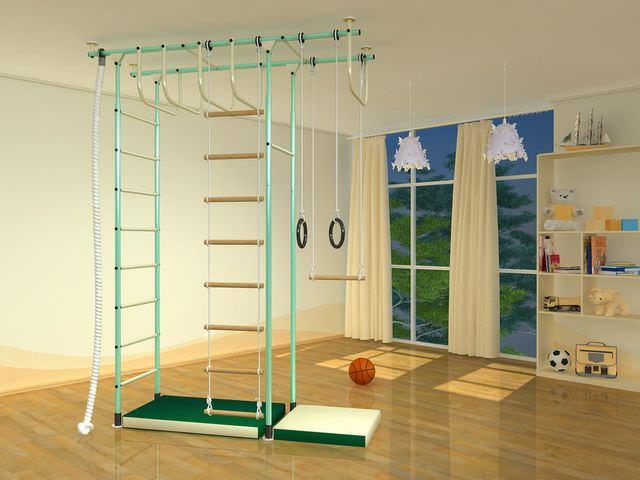 Как сделать веревочную лестницу?