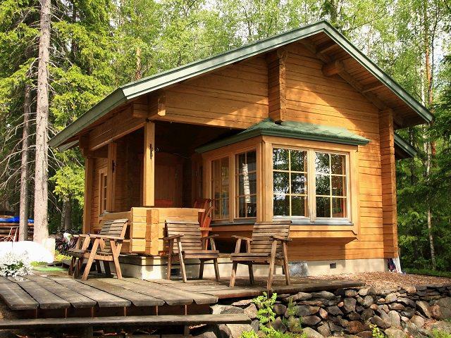 Строительство летнего домика своими руками