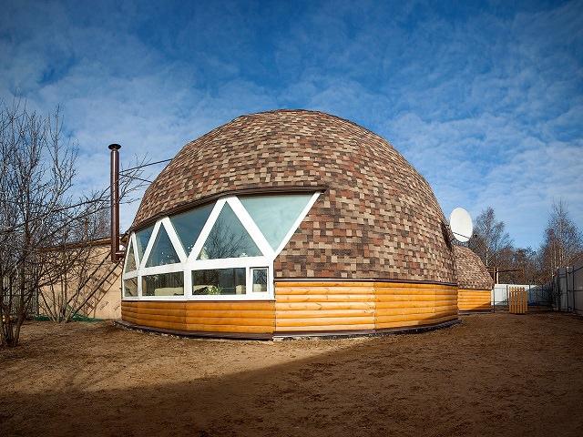 Проекты круглых домов