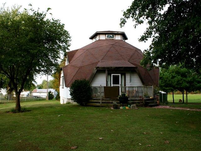 Круглые дома