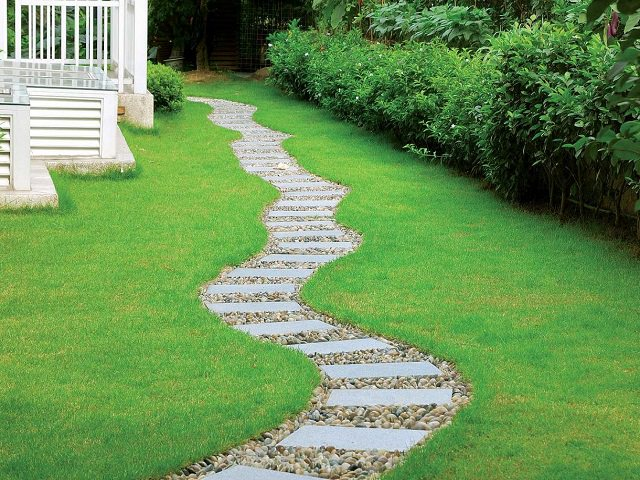 Форма для заливки садовых дорожек