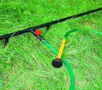 Шланг и труба от летнего водопровода