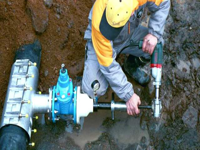 Врезка в централизованный водопровод