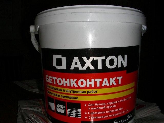 Состав бетоно контакта