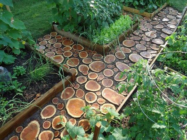 Интересный дизайн для сада и Огорода
