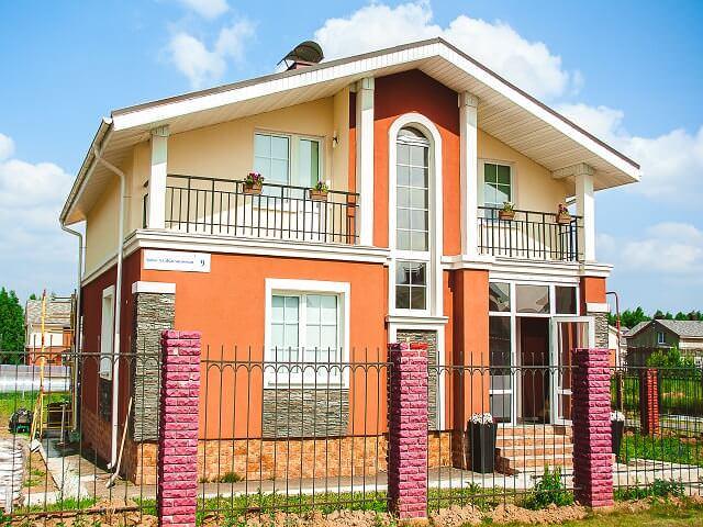 Достроенный новый дом в ипотеку