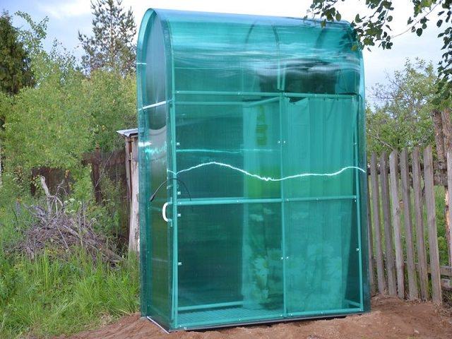 Летний душ в саду как построить