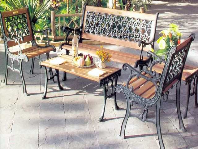 Производство Садовой мебели из металла