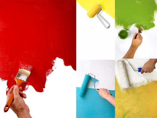 Способы нанесения интерьерной водоэмульсионной краски