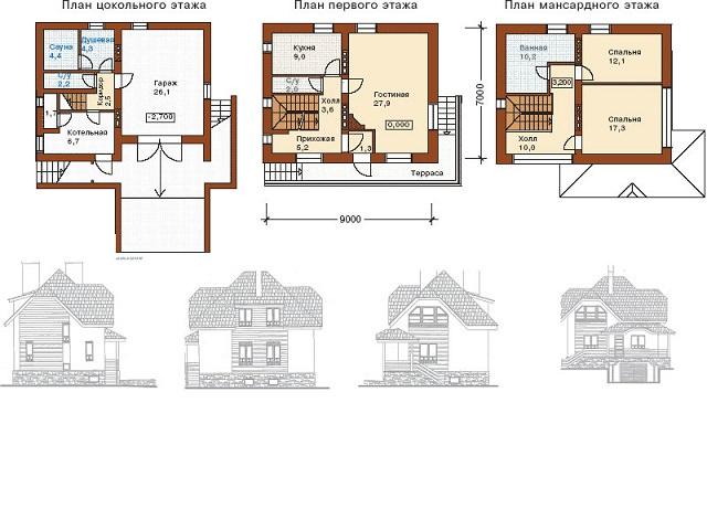 Типовой проект дома в ипотеку