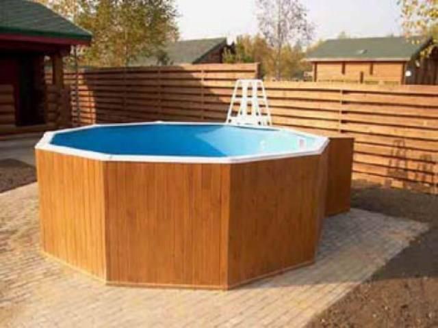 Поддон для бассейна своими руками