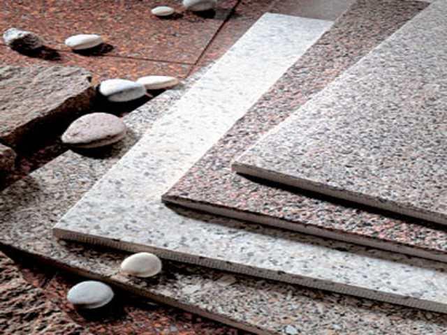 Укладка камня - керамогранит