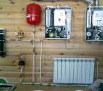 Система отопления дачи